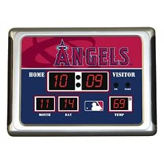 Buy Team Sports America - Los Angeles Angels Scoreboard Alarm Clock by Team Sports America