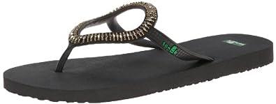 Buy Sanuk Ladies Ibiza Native Flip Flop by Sanuk
