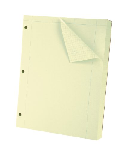 Oxford Engineering Computation Filler Paper, Greentint, 3-Hole Punched, Letter Size, 5 square inch ruling, 500-Sheets (26-145) (Oxford Engineering Paper compare prices)