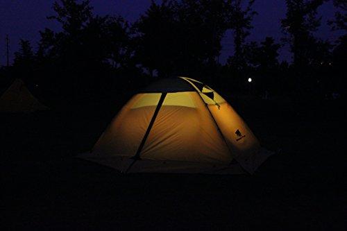 GEERTOP® 2-Personen 4-Jahreszeiten Aluminiumstangen Wasserdichten Camping Kuppelzelt – 140 x 210 x 115 cm – Ideal für Camping, Beim Klettern und Jagen - 4