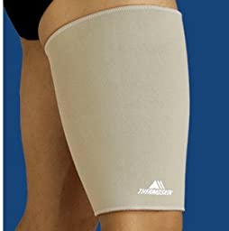 Thermoskin Thigh and Hamstring Support, Beige, Small