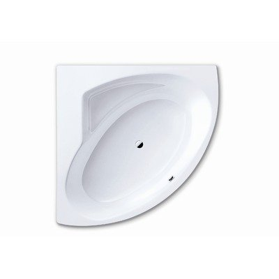 Punta Duo 3 55.1&#8243; x 55.1&#8243; Bath Tub in White