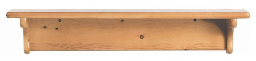 Little Colorado Basic Wall Shelves, Honey Oak, Wood front-541246