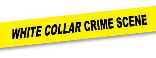 "Big Mouth Toys Crime Scene Tape ""White Collar Crime Scene"", 50 Foot Roll"