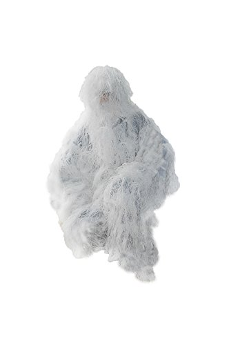 White Modern Snow Design Ghillie Suit Winter Sniper Camouflage Ghillie Suit