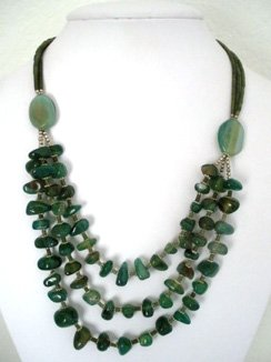 Afghan Agate Necklace