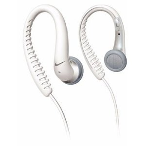 Nike Sport Flow Ear Hook Headphones White By Phillips
