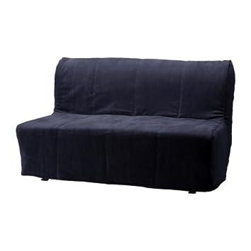 IKEA LYCKSELE --Dos asientos cubierta sofá-cama, Henan negro