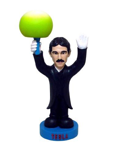 Nikola Tesla Oddbobbles Bobblehead Figure Statue