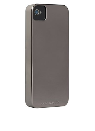 Case Mate Barely There Slim Case in Metallic Silver for iPhone 4 / 4S