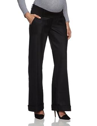 ESPRIT Maternity Women's FlareMaternity Trousers, Black, 6