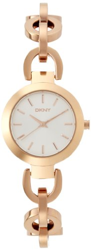 DKNY SPRING 14 ny2135 Rose Gold Steel Bracelet & Case Mineral Women's Watch