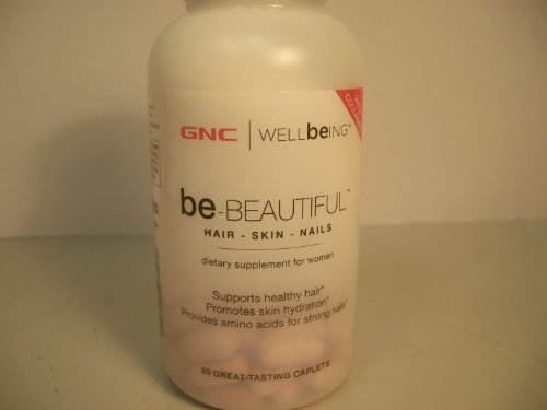 Gnc Wellbeing Be-Beautiful Hair, Skin & Nails For Women, 60 Caplets