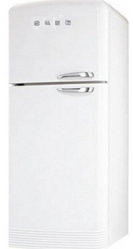 Smeg FAB50BS Stand Kühlgerät Kühlkombination Weiß Gefrierteil NoFrost Retro A+