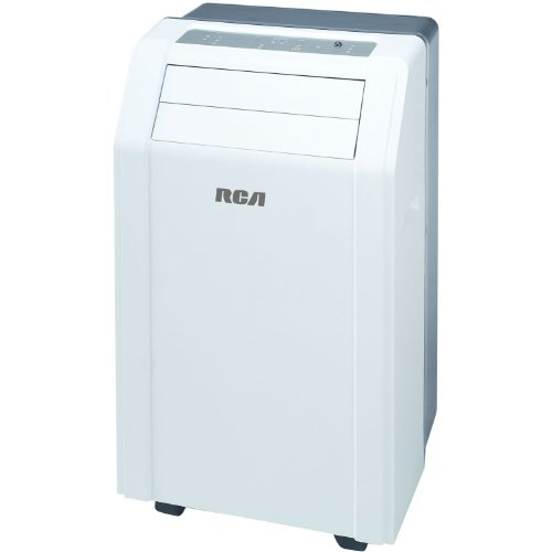 "Rca 12,000 Btu 3 In 1 Portable Air Conditioner, Fan & Dehumidifier With Auto Evaporating System With ""No Bucket Design"", 3 Cooling Speeds And 3 Fan Speeds, 12-Hour Digital Timer, Sleep Mode, Digital Controls With Led Display,Easy Clean Mesh Filter, Caster"