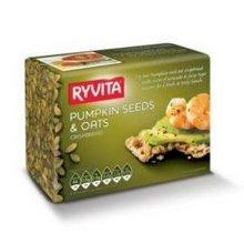 Ryvita Crisp Bread Pumpkin Seed & Oat Crispbread 198 gm (Pack of 10)