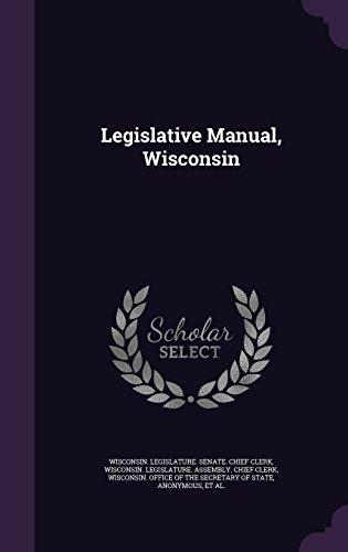 Legislative Manual, Wisconsin