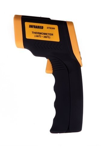 Non-Contact DT8380 IR Infrared Digital Thermometer w Laser Point