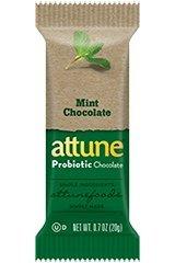Attune - All Natural Probiotic Bars Mint Chocolate - 7 Bars (Attune Bars compare prices)