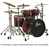 Gretsch 4pc Renown Maple Shell Pack - Ruby Sparkle Fade