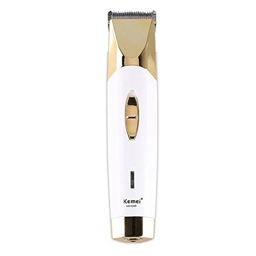 Kemei 110-240v Professional Hair Clipper Trimmer Electric Cutter Hair Cutting Machine Haircut Titanium Blade Barber Tool