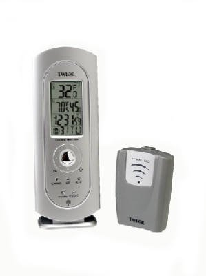 Taylor #1434 Digital Thermometer/Clock - Buy Taylor #1434 Digital Thermometer/Clock - Purchase Taylor #1434 Digital Thermometer/Clock (TAYLOR PRECISION PRODUCTS, Home & Garden,Categories,Patio Lawn & Garden,Weather Instruments)