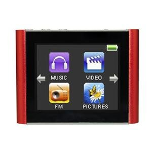 NEW Eclipse T180 4GB MP3 Red (Digital Media Players)
