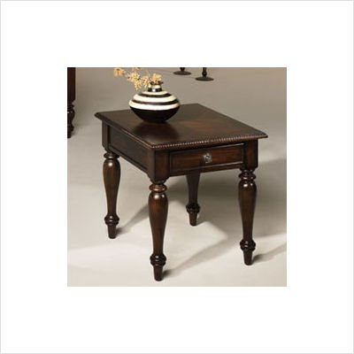 Cheap Hammary T2008421-00 Carlisle Rectangular Drawer End Table in Rich Tobacco Finish (T2008421-00)
