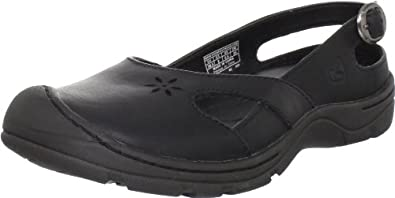 Keen Women's Paradise Slip-On Shoe,Black,7.5 M US