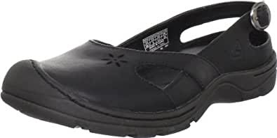 KEEN Women's Paradise Slip-On Shoe,Black,5 M US