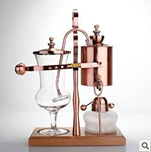 Belgium syphon royal luxury balance coffee for Best luxury coffee maker