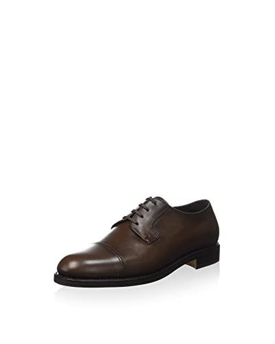 GEORGE'S Desert Boot Derby /Blucher Palavega (Full Brogue) schokolade