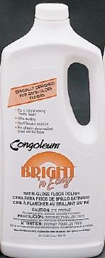 Congoleum Satin Gloss Floor Polish - 32 oz. Bottle