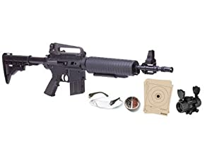 Crosman M4-177 Tactical Style Pneumatic Multi-Pump BB and Pellet Rifle by Crosman
