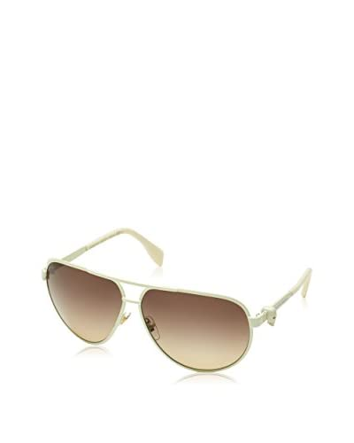 Alexander McQueen Sonnenbrille AMQ 4156/S Unisex naturweiß