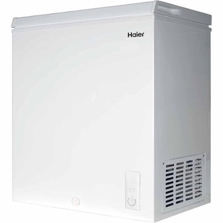 Haier 5.0 cu ft Freezer, White (Freezers compare prices)