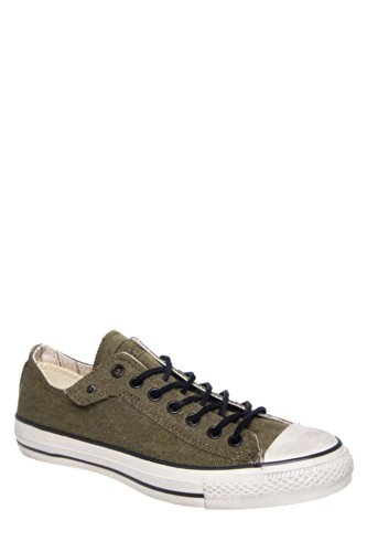 Converse by John Varvatos Men'S Ct Ox Stud Closure Low Top Sneaker