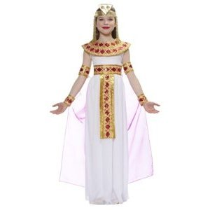 Egyptian Cleopatra (Pink) Child Halloween Costume Size 4-6 Small