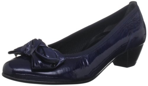 Gabor Womens Lunar P Dark Blue Pearlised Court Shoes 76.112.96 9 UK, 42 EU