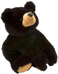 Braden Black Plush Bear 16