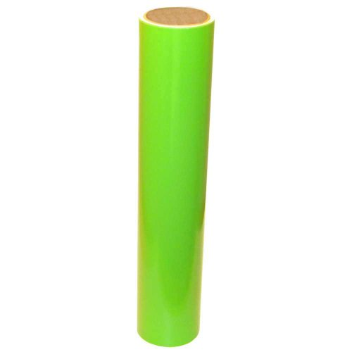 Vinyl Oasis Craft & Hobby Vinyl - Gloss Lime Tree Green W/ Permanent Adhesive - 12 In. X 10 Ft. Roll front-1047129