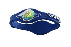 Power Balance / GWSA09BK00WTLP Bracelet silicone Bleu Blanc L