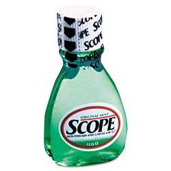 SCOPE 5112 Mint Flavor Mouthwash, 1.49 oz Bottle (Case of 180)