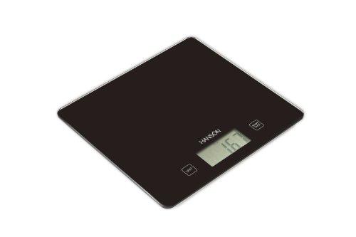 Hanson H1040 Balance électronique de cuisine avec mesure des liquides Noir 5kg