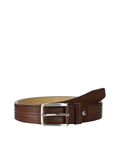 Ortiz & Reed Cintura Pelle Light Brown Leather Belt [Marrone Chiaro]