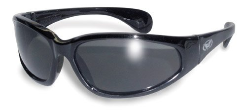 Global Vision Unbreakable Motorcycle Sunglasses/Biker Wraps Complete With A FREE Microfibre Pouch