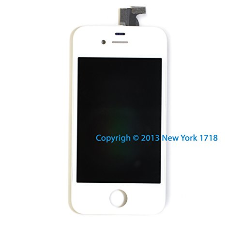 Brand New Iphone 4S Screen Assembly Replacement Part (Original, White)