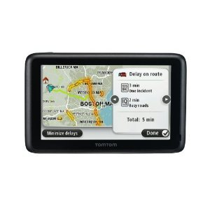 TomTom GO 2405TM 4.3-Inch Portable Bluetooth GPS Navigator with Lifetime Traffic & Maps