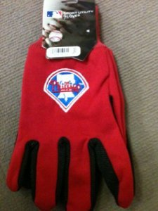MLB Philadelphia Phillies Logo Utility Work Gloves at Amazon.com