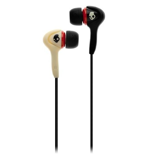 Skullcandy Smokin Buds W/ Mic, Lurker Black/Bone, One-Size